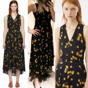 $795 3.1 PHILLIP LIM Cherry Spring Maxi Dress 10 L